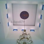 Plafon musholla az-zaenab